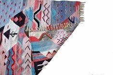 Rainbow Kilim Rug x Carpet Runner, Kilim Rugs, Rainbow, Rain Bow, Rainbows