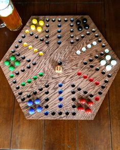 Wooden Board Games, Game Boards, Tribal Cross Tattoos, Woodworking Projects Diy, Woodworking Plans, Wood Projects, Marble Board, Diy Playground, Diy Games