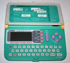 Casio My Super Magic Diary - http://www.buzzfeed.com/leonoraepstein/28-toys-from-your-childhood-that-are-now-worth-bank