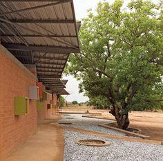 Clinic, Francis Kere, Burkina Faso