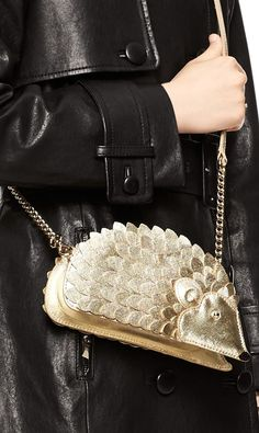 Kate Spade hedgehog leather crossbody here.