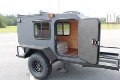 Camping Trailer Diy, Off Road Camper Trailer, Trailer Build, Truck Camping, Small Camper Trailers, Tiny Camper, Rv Trailers, Off Road Teardrop Trailer, Teardrop Camper Plans