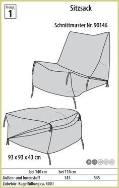 Sitzsack, idea for bookrest