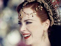 Beautiful Nicole Kidman as Satine in Moulin Rouge <3