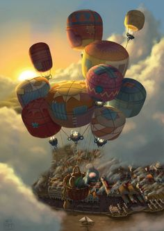 Way Up High by AndrewMcIntoshArt on deviantART