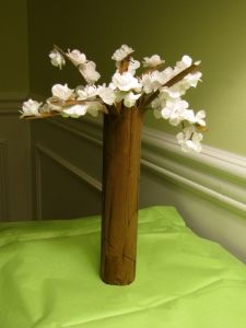 paper towel roll trees-Spring