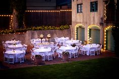 Dresser Mansion Tulsa, ok. Outdoor reception