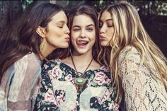 model, barbara palvin, and gigi hadid image