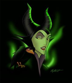 *MALEFICENT ~ Evil Queen from Snow White and the Seven Dwarfs, 1937