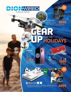 Dion Wired : Gear Up For The Holidays March - 4 April page 1