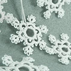 tatted snowflake - pattern