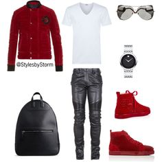 A fashion look from August 2016 featuring men's v neck shirts, mens military jacket and Maison Margiela. Browse and shop related looks. Androgynous Fashion, Tomboy Fashion, Fashion Shoes, Mens Fashion, Fashion Outfits, Swag Outfits Men, Stylish Mens Outfits, Casual Outfits, Men Casual