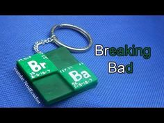 Breaking Bad Keychain Polymer Clay Tutorial - YouTube