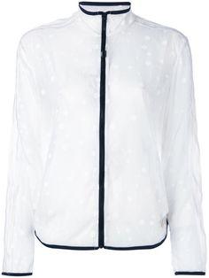 Shop Adidas Originals transparent polka dot track jacket.