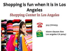 Los Angeles is one of the best destinations for the shopaholics. You can find amazing brands and collection, which is right for you. Choose from the wide variety to ensure your desires are fulfilled. http://goo.gl/Kav1e6