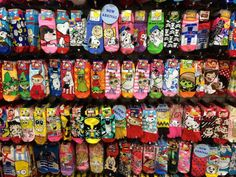 Souvenirs+From+Japan | Novelty and character socks are so popular you can find them ...