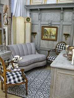 gorgeous backdrop for my booth! Vignettes Antiques: Scenes from a Soiree ~ Part 1
