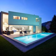 Modern House in Riva San Vitale by Gianluca Martinelli Architetto Minimalist Architecture, Amazing Architecture, Contemporary Architecture, Architecture Design, Building Architecture, Switzerland House, Modern Patio Design, Magazine Deco, Kb Homes