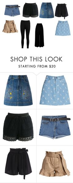 """""""Horace Somnusson (pants)"""" by elenahimekirari ❤ liked on Polyvore featuring Alice + Olivia, Marc Jacobs, Chicwish, Cinq à Sept and Boohoo"""
