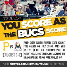 Get 'em while they're hot! #LetsGoBucs
