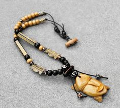 Mens Necklace Mens Jewelry Men African Necklace Gye Nyame