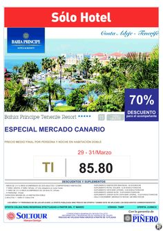 H. Bahía Príncipe Tenerife Resort. 70% dto. Acompañante. Solo Hotel. Solo residentes ultimo minuto - http://zocotours.com/h-bahia-principe-tenerife-resort-70-dto-acompanante-solo-hotel-solo-residentes-ultimo-minuto/