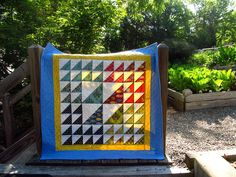 Odyssea Baby Lap or Wall Quilt by QuiltArtStudio on Etsy