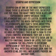 Scorpio depressed