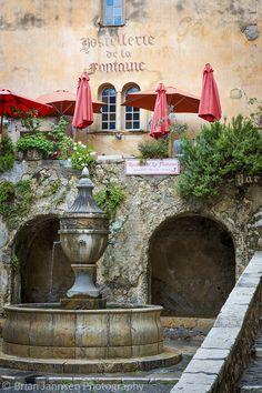 Le Grande Fontaine, St Paul de Vence, France. © Brian Jannsen Photography