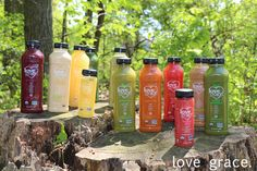 Reviewing all 12  Love Grace  cold-pressed juices and superfood #smoothies. #lovegracefoods #organic #nongmo #vegan #glutenfree #dairyfree #kosher