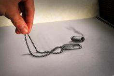 Ramon Bruin dessine au crayon ces illustrations qui semblent en relief. [Via]