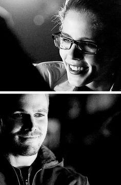 Arrow - Oliver and Felicity #Season2 #Olicity