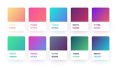 Gradient Color Palette for Sketch - UI UX Resource FREE