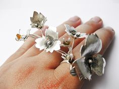 Michelle Pujol Jewellery — Trailing weed ring