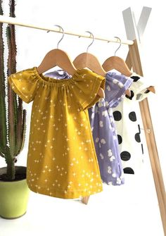 Handmade Organic Cotton Dresses by Sunny Afternoon on Etsy toys4mykids.com