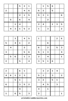 picture regarding 6x6 Sudoku Printable named 58 Perfect Sudoku pics within just 2019 Sudoku puzzles, Quizes