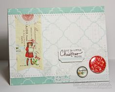 SeaGlass Papercrafts: The 12 Kits of Christmas--September