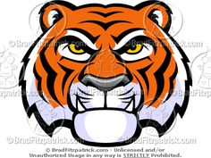 cartoon tigers face google search tigers pinterest tiger rh pinterest com cartoon tiger face drawing cartoon tiger face images