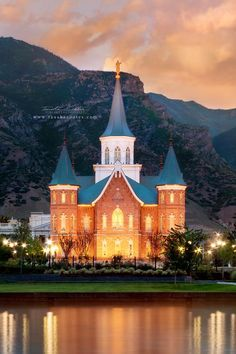 Provo City Center Temple. Photography by Tausha Coates