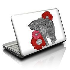 Netbook Skin - The Elephant by Valentina Ramos