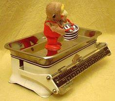 STUBE Waage als Vorkriegsmodell - immer noch aktuell in der Küche!