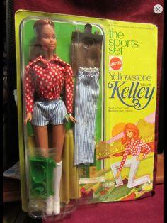 Not mine! From eBay. Yellowstone Kelley Barbie 1975.
