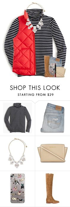 """""""500 FOLLOWERS?!"""" by if-you-like-midnight-driving ❤ liked on Polyvore featuring J.Crew, Abercrombie & Fitch, Kate Spade, MICHAEL Michael Kors, Ash and NARS Cosmetics"""