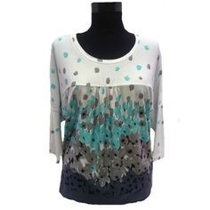 bluza cu imprimeu Coral, Long Sleeve, Sleeves, Tops, Women, Fashion, Atelier, Moda, Long Dress Patterns