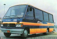 Marcopolo 205 por clube do onibus monteiro-acervo