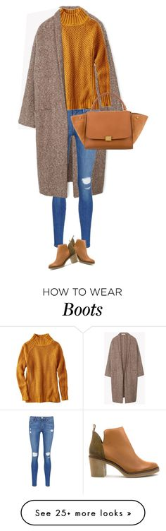 """""""street style"""" by ecem1 on Polyvore featuring MANGO, Frame Denim, American Eagle Outfitters, Miista and CÉLINE"""