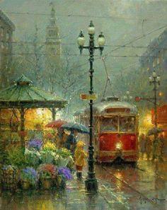 Gerald Harvey Jones, better known as G. Harvey, was born in San Antonio, Texas in Walking In The Rain, Singing In The Rain, Rainy Night, Rainy Days, Winter Gif, I Love Rain, Rain Art, Sound Of Rain, Pics Art