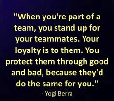 Are you a team player or a team slayer? Be the strong link in the chain.