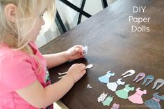 Craftaholics Anonymous® | DIY Magnetic Paper Dolls