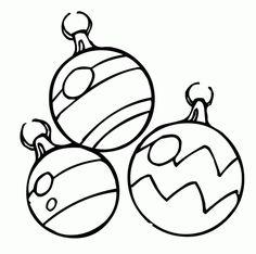 Free Printable Christmas Clip Art Christmas Tree Ornaments 4